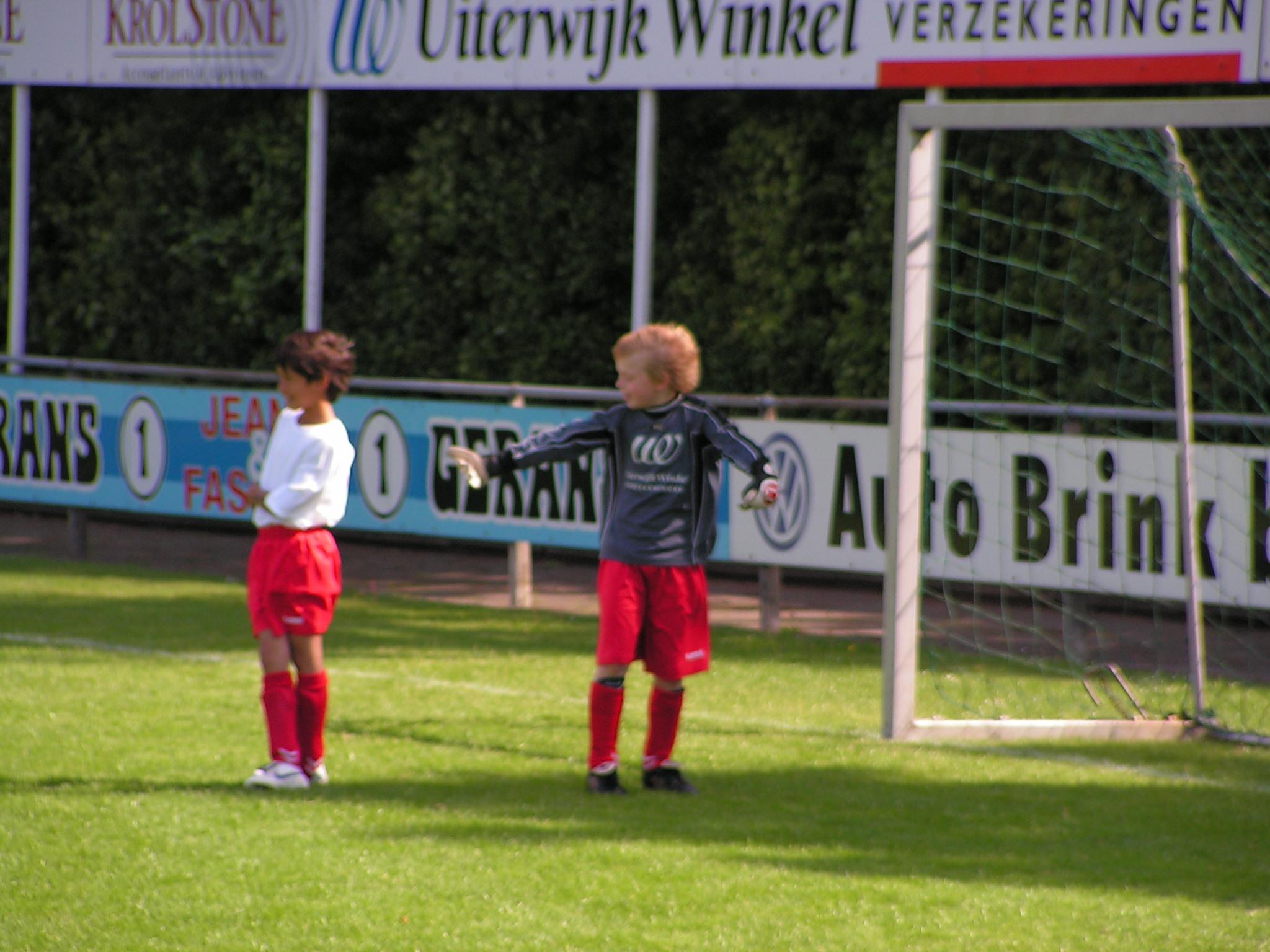 De voetballer Sem (november 2008)