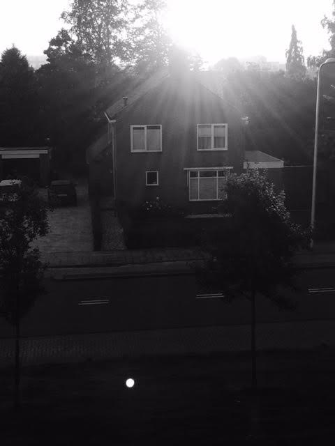 Afscheid van een buurman